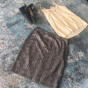 The Limited High Waist Skirt